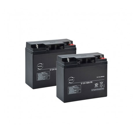 Pack batteries 12v -18Ah pour ClicRoll SM17