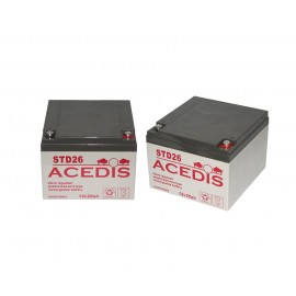 Pack batteries pour ClicRoll SM20