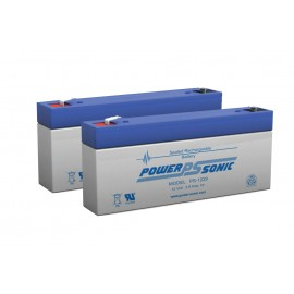 Pack Batteries 12 V - 2.9A pour S Line