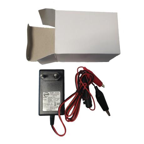 Chargeur régulateur pour batterie 12V