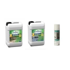 Kit produits nettoyage/protection 2kg