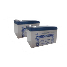 Pack batteries Leoch/Powersonic 12A
